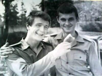205. 1978-1979. Михаил Борисов и ?