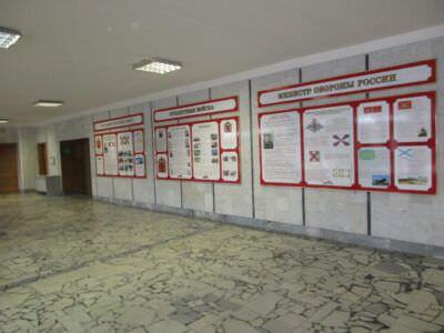 011. 2020-02-23. Холл здания, где находится музей.