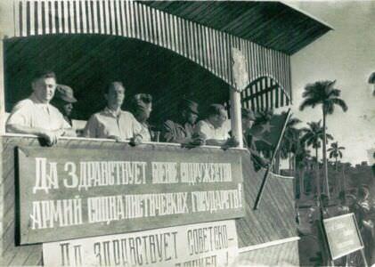 61. 26 ноября 1963, смотр, передача техники кубинцам, фото 3