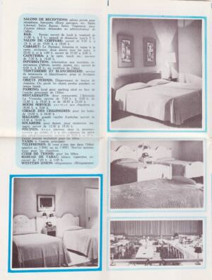 221. Буклет гостиницы National de Cuba. Лист 3.