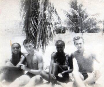 1993, пляж Санта-Мария - 01