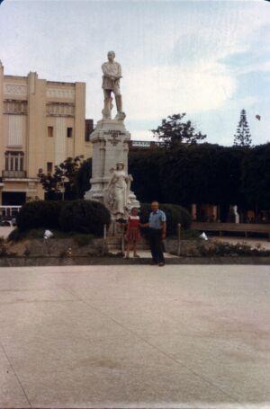 Ольгин. 1985-1988. Парк Калисто Гарсиа.