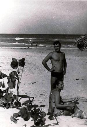 221. 1981-1983. На пляже Санта-Мария