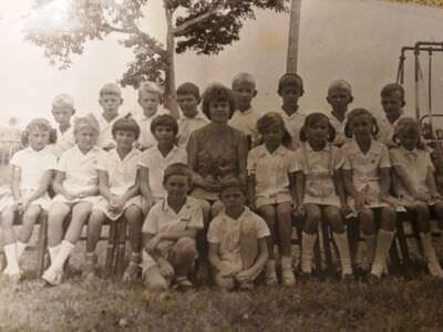 Начальная школа в Нарокко, 2 класс, 1968-1969 учебный год