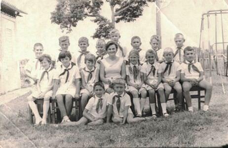 Начальная школа в Нарокко, 3 класс, 1968-1969 учебный год
