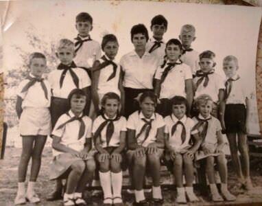 Начальная школа в Нарокко, 3 класс, 1969-1970 учебный год, фото 1