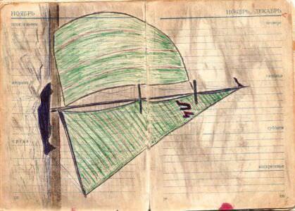 1974-1976. Армейский блокнот, лист 42