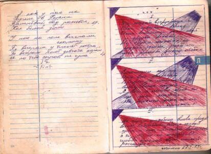 1974-1976. Армейский блокнот, лист 56