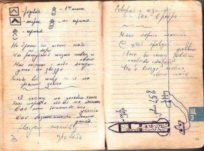 1974-1976. Армейский блокнот, лист 67