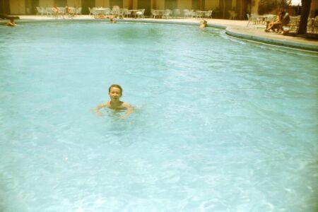 1983-1986. На территории отеля