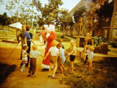 02. 1985-1987. Офицерский городок в Торренсе.