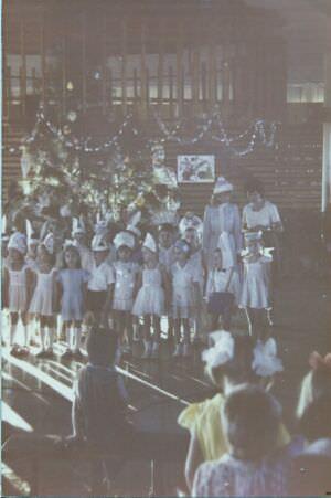 56. 1982, декабрь.  Утренник в Интерклубе, Лас-Колорадас