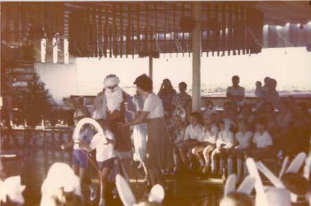 59. 1982, декабрь.  Утренник в Интерклубе, Лас-Колорадас