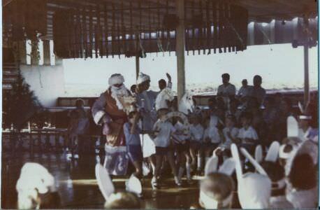 73. 1982, декабрь.  Утренник в Интерклубе, Лас-Колорадас