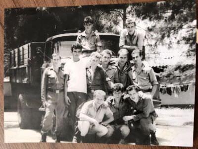 Солдаты «Орбиты» между весной 90 и осенью 90.