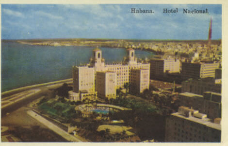 105. Гавана, отель «Националь»