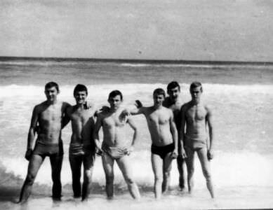 104. 1978-1979, пляж Эль-Саладо, фото 1