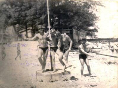 40. На пляже