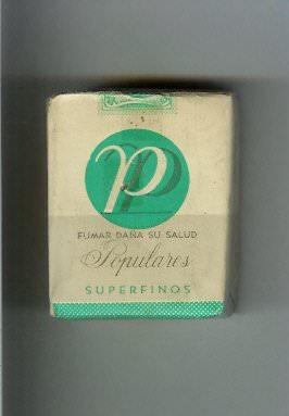 «Популярес», зеленая пачка