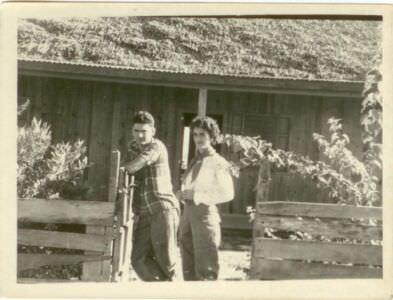 04. Попов Геннадий Александрович и кубинская девушка. Республика Куба, г. Гавана. 1961 г.
