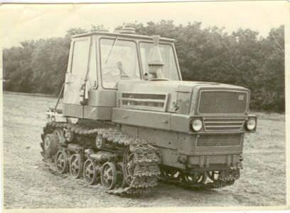 53. Трактор Т-50. Республика Куба. 1962 г.