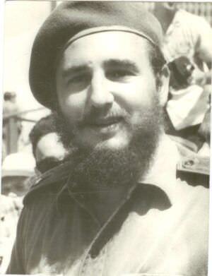57. Фидель Кастро, премьер-министр Республики Куба, г. Гавана, 1961 г. Копия. СССР. 1981 г.