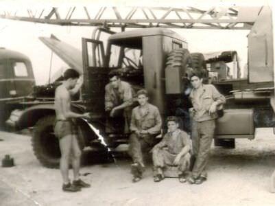 50. ПАРМ-1, ремонт  крана  третьей  эскадрильи, фото 2
