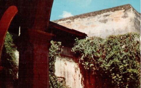 448. Тринидад. Угол дворика дворца Изнага