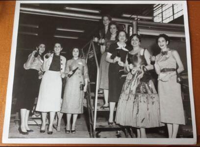 1953. Кубинские женщины на пивоваренной фабрике «Hatuey».