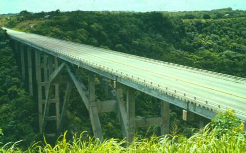 1983. Бакунаягуа - самый высокий мост Кубы, фото 1