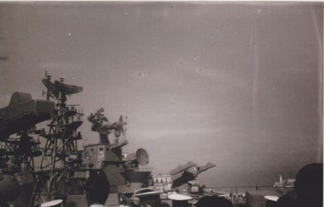 072. Осень 1986. Гвардейский большой противолодочный корабль (БПК) «Красный Кавказ».