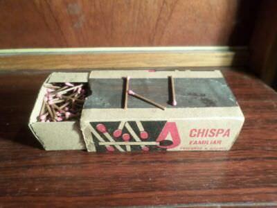 1980 - Большой коробок спичек, вид сверху и сбоку