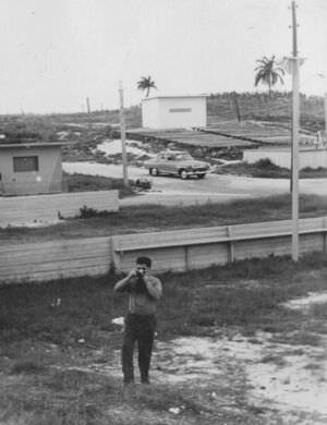 16. 1964. Новая Деревня. Только что построенный кинотеатр.