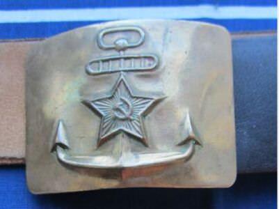 1985-1987. Бляха ВМФ