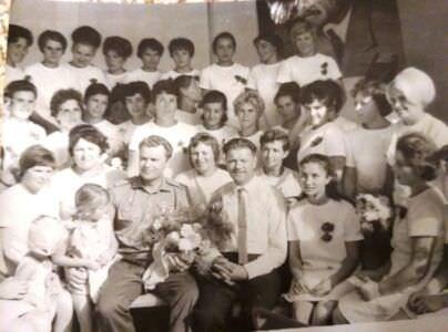 1970. Космонавт Владимир Александрович Шаталов в Нарокко