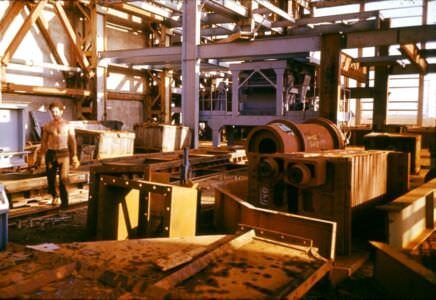 1983-1985. Монтаж оборудования на шестом комплексе. Фото 1
