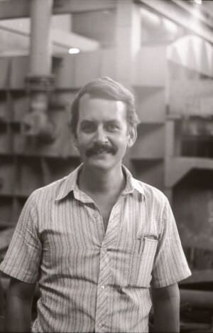 1983-1985. Заместитель начальника комплекса Роберто