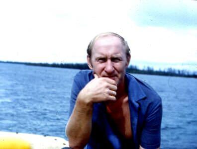 209. 1983-1985. На баркасе.