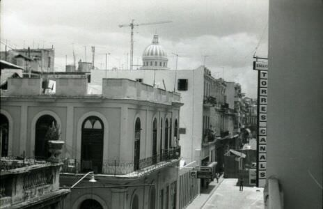 1983. Вид с балкона отеля «Lido».