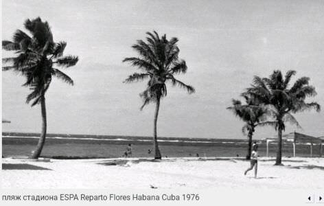 014. Пляж стадиона ESPA, район Флорес, 1976
