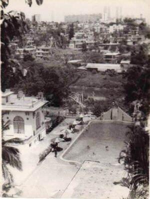301. 1985-1986. Клуб «Чайка» на фоне красавицы Гаваны