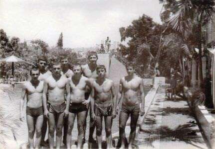 305. 1985-1986. Бассейн в  «Чайке», фото 4