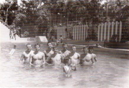 306. 1985-1986. Бассейн в  «Чайке», фото 5
