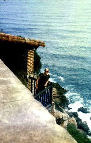 136. Сантьяго-де-Куба. 1983-1985. Крепость Кастильо-дель-Моро. Вид с балкона.