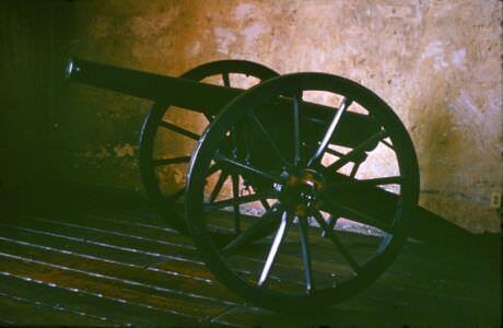 Сантьяго-де-Куба. 1983-1985. Крепость Кастильо-дель-Моро. Пушка