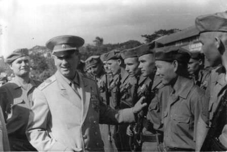 06. Визит Министра обороны СССР маршала Гречко А.А. на Кубу, 12-18 ноября 1969 года