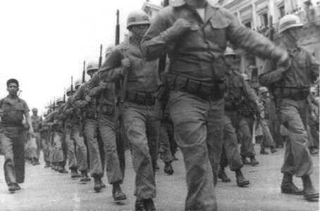 38. Военный парад в Гаване 26 июля 1959 года