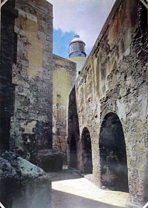 024. Улица в крепости Эль-Морро. 1589-1630. Гавана