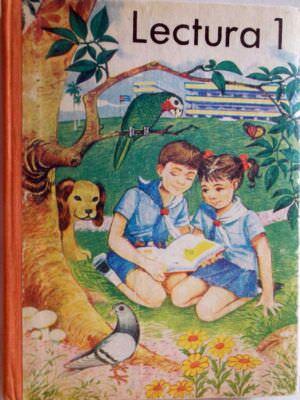 Кубинский учебник по чтению для 1 класса. Обложка.