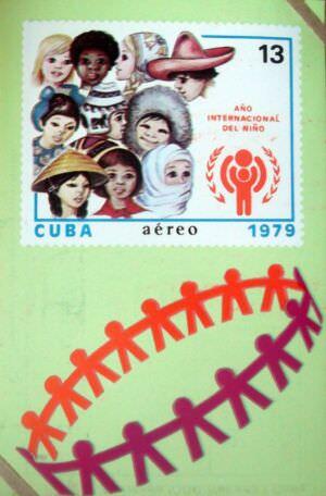 Календарик на 1980 год - Международный год ребенка 1979
